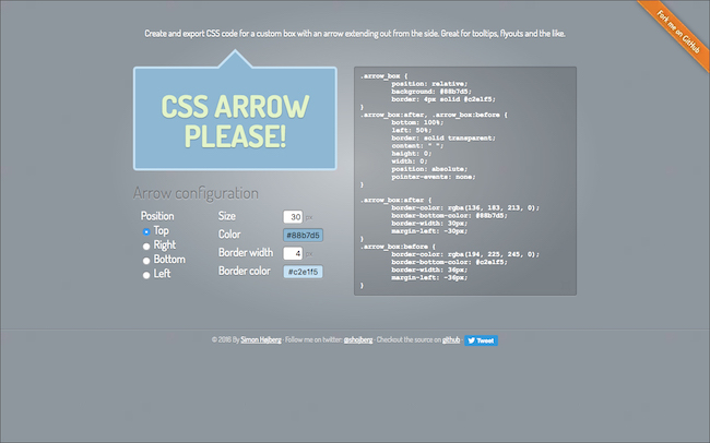 CSS ARROW PLEASE!